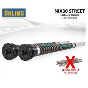OHLINS FKS NIX30 스트리트 ADJUSTABLE 포크 카트리지 WITHOUT 스프링 - 야마하 티맥스 530 SX (17-19) 오토바이 부품 튜닝 파츠 FKS 503