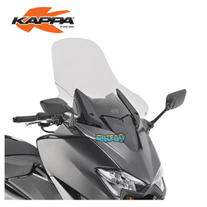 KAPPA 프랜스페어렌트 윈드쉴드 59.5X61CM SPECIFIC - 야마하 티맥스 530 SX (17-19) 오토바이 부품 튜닝 파츠 KD2133ST