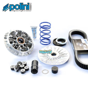 POLINI 컴플리트 키트 하이-스피드 에볼루션 바리에이터 WITH 12 롤러 - 야마하 티맥스 530 SX (17-19) 오토바이 부품 튜닝 파츠 241.701.1