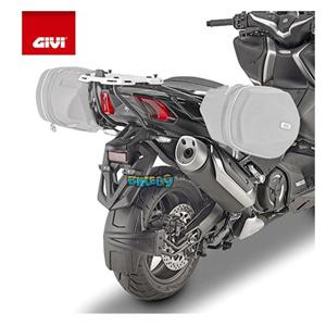 GIVI SPECIFIC 프레임 FOR 사이드 백 이지락 소프트 사이드 백 - 야마하 티맥스 530 SX (17-19) 오토바이 부품 튜닝 파츠 TE2133