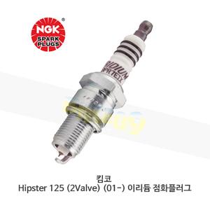 킴코 Hipster 125 (2Valve) (01-) 이리듐 점화플러그