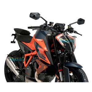 다운포스 네이키드 스포일러 FOR KTM 1290 슈퍼듀크 R (20-21) - 푸익 오토바이 다운포스 스포일러 윙렛 날개 20462N