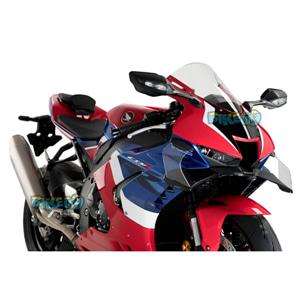 프론탈 스포일러 GP FOR 혼다 CBR1000RR 파이어 블레이드 (20-21) - 푸익 오토바이 다운포스 스포일러 윙렛 날개 20508N