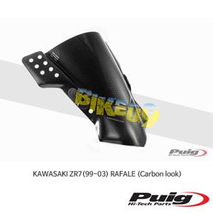 가와사키 ZR7(99-03) RAFALE 푸익 윈드 스크린 실드 (Carbon look)