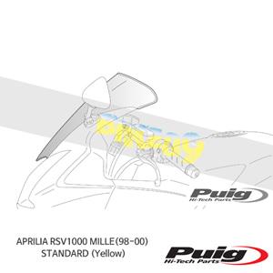 APRILIA RSV1000 MILLE(98-00) STANDARD 퓨익 윈드스크린 (Yellow)