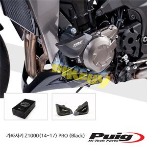 가와사키 Z1000(14-17) PRO 퓨익 프레임 슬라이더 엔진가드 (Black)