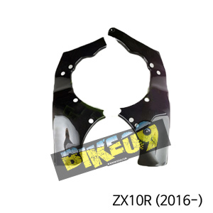 가와사키 ZX10R(2016-) 카본 차대 프레임커버 카본 카울