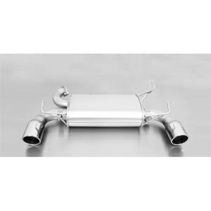 레무스 닛산 350Z Typ(e) Z33 sport exhaust with left/right each 1 tail pipe Ø 102 mm angled 아크라포빅 가변배기 머플러