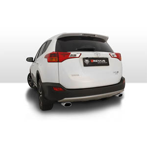 레무스 도요타 RAV4 Typ(e) XA3 sport exhaust left/right each 1 tail pipe 133x85 mm angled/angled 아크라포빅 가변배기 머플러
