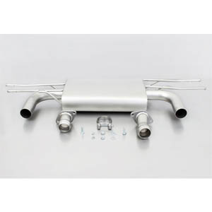 레무스 코리아 마쯔다 CX-3 Typ(e) DK sport exhaust centered for left/right system (without tail pipes) 아크라포빅 가변배기 머플러