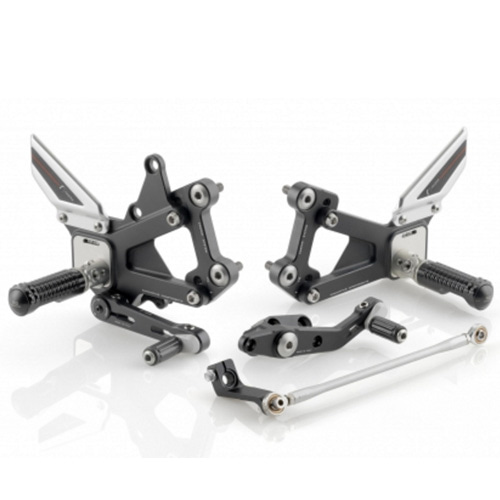 "리조마 TRIUMPH Street Triple (2007 - 2012) Rear sets control Kit ""EVO"""
