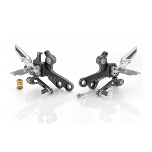 "리조마 DUCATI Monster 1100 (2008 - 2011) Rear sets control Kit ""REV"""