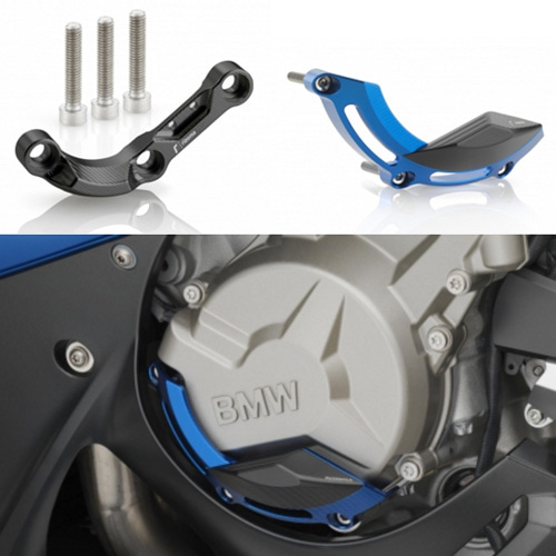 "리조마 BMW S1000R (2014 - 2015) Engine / Fairing Guards ""SHAPE"" (Left)"