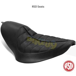 RSD Enzo 트래커 솔로 시트 for 할리 소프트테일 블랙- 할리 데이비슨 튜닝 부품 76945