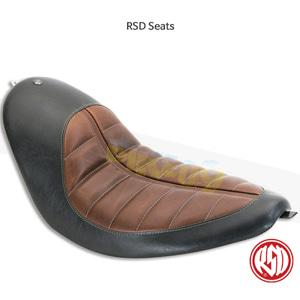 RSD Enzo 트래커 솔로 시트 for 할리 소프트테일 브라운- 할리 데이비슨 튜닝 부품 76938