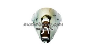 스크린/레이싱/이리듐/클리어/스모그/HONDA CBR600 F4i 01-08 Chrome 20