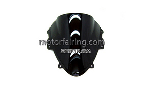 스크린/레이싱/이리듐/클리어/스모그/Suzuki GSX-R600/750 06-07 Black 15