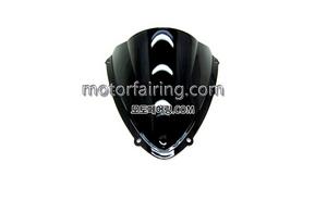 스크린/레이싱/이리듐/클리어/스모그/Suzuki GSX-R600/750 08-10 Black 15