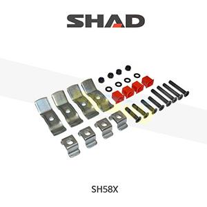 SHAD 샤드 탑케이스 SH58X 보수용 탑플레이트 스크류 세트 D1B40BOR