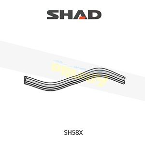 SHAD 샤드 탑케이스 SH58X 보수용 박스 씰 가스켓 400269R2
