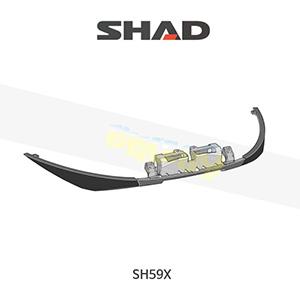 SHAD 샤드 탑케이스 SH59X 보수용 프론트 렌즈(프론트 프레임) D1B59CAR