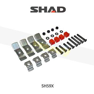 SHAD 샤드 탑케이스 SH59X 보수용 탑플레이트 스크류 세트 D1B40BOR