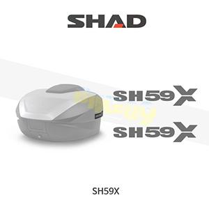 SHAD 샤드 탑케이스 SH59X 보수용 스티커 세트 D1B59ETR