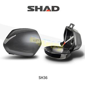 SHAD 샤드 싸이드 케이스 SH36 3P SYSTEM 기본사양 (무광 검정) D0B36100