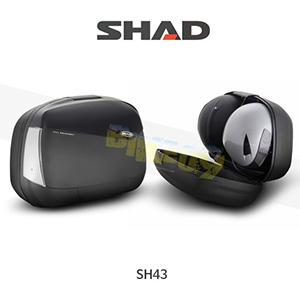 SHAD 샤드 싸이드 케이스 SH43 기본사양 (무광 검정) D0B43100