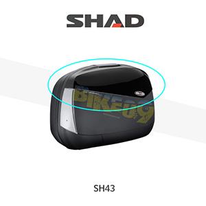 SHAD 샤드 싸이드 케이스 SH43 변환 케이스 커버 (메탈 블랙) D1B43E21