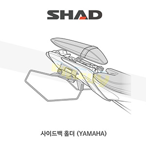 SHAD 샤드 사이드백 홀더 야마하 YAMAHA MT07 (14-19) Y0MT78SE