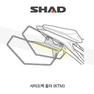 SHAD 샤드 사이드백 홀더 KTM 듀크125/200/390 (17-19) K0DK17SE