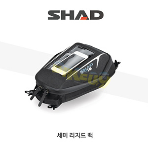 SHAD 샤드 세미 리지드 새들백 스몰 탱크백 E-04 X0SE04