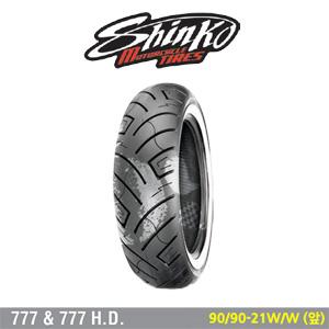 신코타이어 SR777 W/W 90/90-21 W/W (앞)