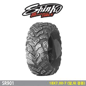 신코타이어 SR901 18X7.00-7 (앞,뒤 겸용)