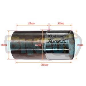 아크라포빅 베스파 GTS125/150 (17-) 촉매 - 아크라 포빅 오토바이 머플러 촉매 P-KAT-067