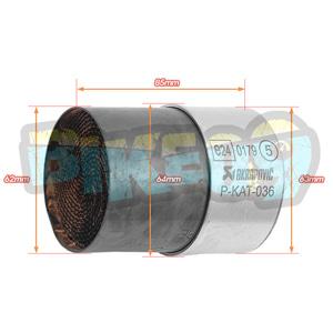 아크라포빅 ER-6N/F (12-16)촉매 - 아크라 포빅 오토바이 머플러 촉매 P-KAT-036