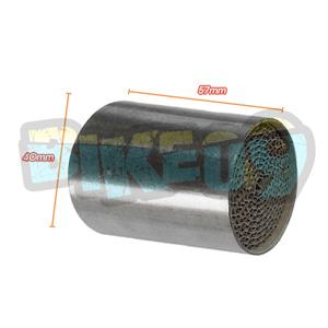 아크라포빅 ER-6 N/F, 닌자 650 촉매 - 아크라 포빅 오토바이 머플러 촉매 P-KAT-009