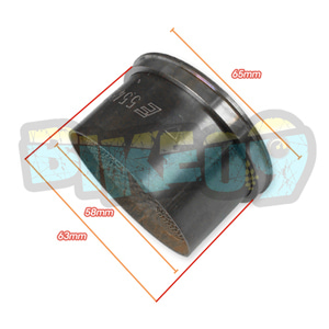 아크라포빅 K1200/R 촉매 - 아크라 포빅 오토바이 머플러 촉매 P-KAT-006/3