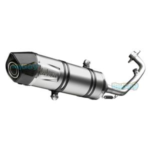 레오빈스 레이싱 Exhaust SBK LV 원 EVO II for 질레라 러너 125/200 VX/VXR -  베스파 오토바이 튜닝 머플러 L8541E