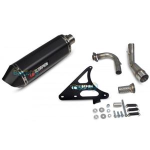 """스콜피온 레이싱 Exhaust """"레드 파워"""" for 스코마디 TL125 (15-17) -  베스파 오토바이 튜닝 머플러 20060B00"""