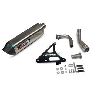 """스콜피온 레이싱 Exhaust """"레드 파워"""" for 스코마디 TL125 (15-17)-  베스파 오토바이 튜닝 머플러 20060E00"""