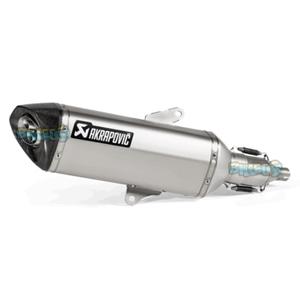 """아크라포빅 레이싱 Exhaust """"슬립-온"""" for 혼다 포르자 250/300ccm -  베스파 오토바이 튜닝 머플러 AKRAPO50"""