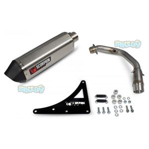 """스콜피온 레이싱 Exhaust """"레드 파워"""" for 스코마디 TL200 (16-17) -  베스파 오토바이 튜닝 머플러 20061E00"""