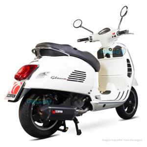 """스콜피온 레이싱 Exhaust """"레드 파워"""" for 베스파 GTS/GTS 슈퍼/GTV/GT 60 i.e. 125-300ccm (-16) -  베스파 오토바이 튜닝 머플러 20058B00"""