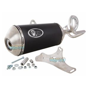 터보키트 레이싱 Exhaust G맥스 for GY6 139QMB 50ccm 4T -  베스파 오토바이 튜닝 머플러 TKM4T061N