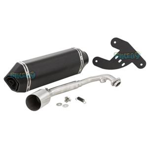레무스 레이싱 Exhaust for 베스파 GTS/GTS 슈퍼125/150ccm 4T LC iGet (16-20) 유로4 -  베스파 오토바이 튜닝 머플러 REM43040B