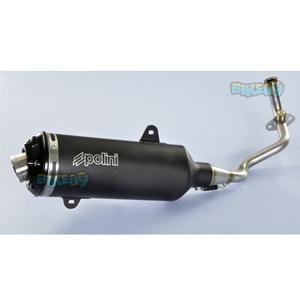 폴리니 레이싱 Exhaust for 피아지오 125-300 메들리 4T LC i.e. -  베스파 오토바이 튜닝 머플러 P1900061