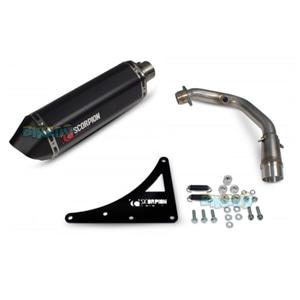 """스콜피온 레이싱 Exhaust """"레드 파워"""" for 스코마디 TL200 (16-17) -  베스파 오토바이 튜닝 머플러 20061B00"""