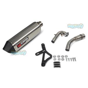 """스콜피온 레이싱 Exhaust """"레드 파워"""" for 베스파 GTS/GTS 슈퍼/GTV/GT 60 i.e. 125-300ccm(-16)-  베스파 오토바이 튜닝 머플러 20058E00E"""